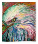 Eagle Fire Fleece Blanket