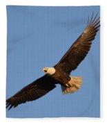 Eagle Flight 5 Fleece Blanket