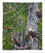 Eagle Gang Fleece Blanket