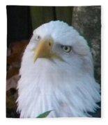 Eagle Head Fleece Blanket