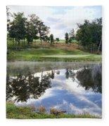 Eagle Knoll Golf Club - Hole Six Fleece Blanket