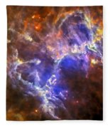 Eagle Nebula Fleece Blanket