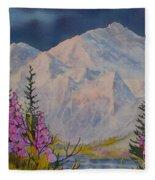 Eagle Peak II Fleece Blanket