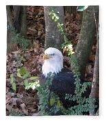 Eagle Pose Fleece Blanket