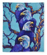 Eagle Tree Fleece Blanket
