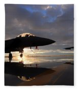 Eagles Sunset Fleece Blanket