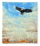 Eagles Unite Fleece Blanket