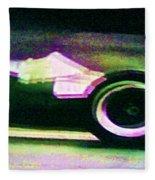 Early 60's F1 Racer Fleece Blanket