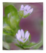 Early Blossoms  Fleece Blanket