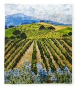 Early Crop Fleece Blanket