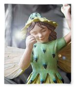 Early Evening Fairy Fleece Blanket