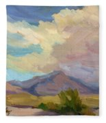 Early Morning At Thousand Palms Fleece Blanket