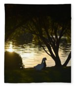 Early Morning Delight Fleece Blanket
