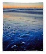 Early Morning On A Sea Coast Fleece Blanket