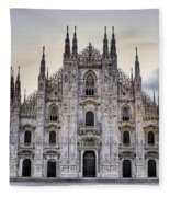 Early Morning On Il Duomo Fleece Blanket