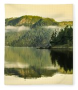 Early Morning Reflections Fleece Blanket