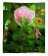 Early Summer Bloom Fleece Blanket