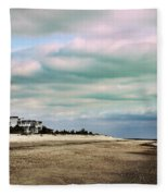 Early Morning Townsends Inlet  Cape May Fleece Blanket