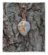Earring In A Tree Fleece Blanket