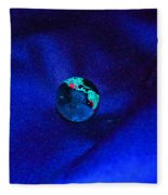 Earth Alone Fleece Blanket