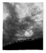 Earth And Sky No.19 Fleece Blanket