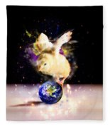 Earth Chick Fleece Blanket