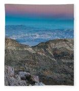 Earth Shadow Fleece Blanket