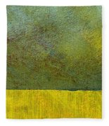Earth Study Two Fleece Blanket