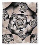Earth Tones Fleece Blanket