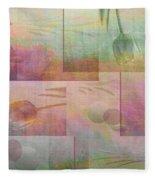 Earthly Garden Fleece Blanket