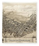 East Boston 1879 Fleece Blanket