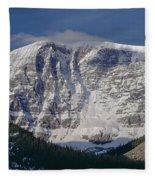 1m3743-east Face Mt. Kitchener With Cloud Fleece Blanket