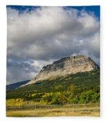 East Flattop Mountain Fleece Blanket