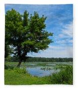 East Harbor State Park - Scenic Overlook 2 Fleece Blanket