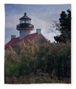 East Point Lighthouse Fleece Blanket