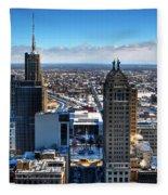 East Side Winter 2013 Fleece Blanket