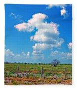 East Texas View Fleece Blanket