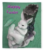 Easter Card 1 Fleece Blanket