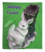 Easter Card 2 Fleece Blanket