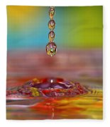 Easter Drop Water  Fleece Blanket