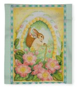 Easter Egg Fleece Blanket