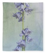 Easter Hyacinth Fleece Blanket