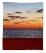 Easter Sunset Fleece Blanket