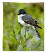 Eastern Kingbird Fleece Blanket