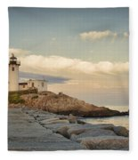 Eastern Point Lighthouse Fleece Blanket