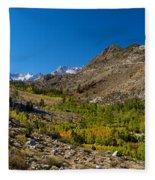 Eastern Sierras 11 Fleece Blanket