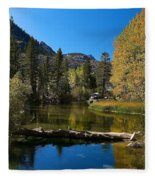 Eastern Sierras 13 Fleece Blanket