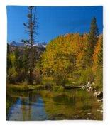 Eastern Sierras 16 Fleece Blanket