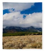 Eastern Sierras 24 Fleece Blanket