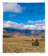 Eastern Sierras 25 Pano Fleece Blanket
